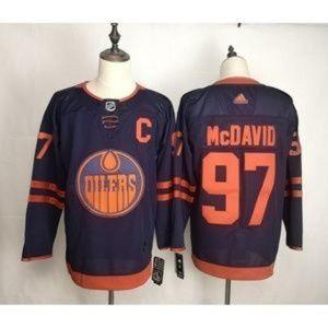 Edmonton Oilers Connor McDavid #97 Jersey